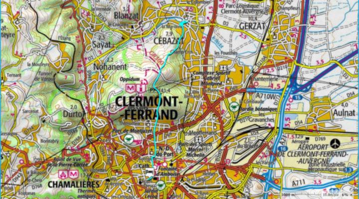 Etape Clermont-Cebazat
